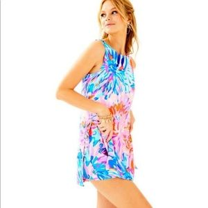 NWT Lilly Pulitzer Donna Romper Dress 2